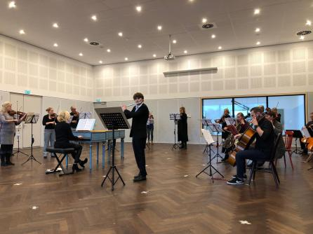 Workshop Barok ad Rijn fluittist Tom